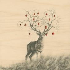 deer with balls